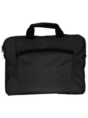Argenso 1018 EKO Laptop Gözlü  Evrak Çantası - Siyah