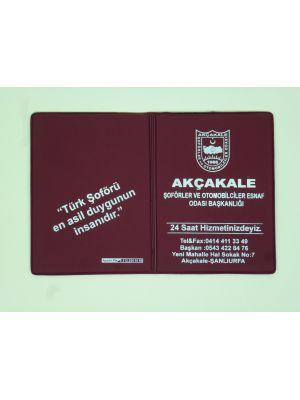 Argenso 1142 Ruhsat Kılıfı (Plastik Üzerine Baskı)