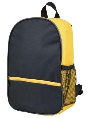 Argenso 1021 EKO Bir Gözlü Anaokulu Çantası - Siyah Sarı